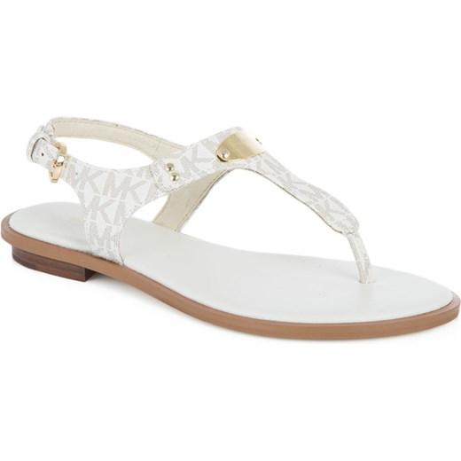 Sandaly srebrne plaskie Sandały damskie Kolekcja wiosna