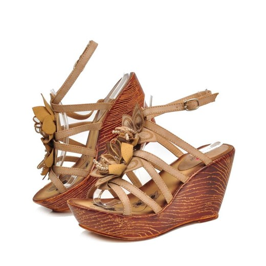 sprzedaż Sandały damskie Moli Design na wysokim obcasie na