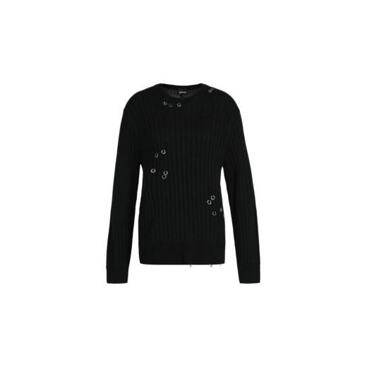 Sweter damski Just Cavalli na zimę Odzież Damska RE czarny OUJT