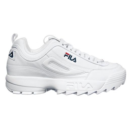Buty sportowe męskie Fila białe w Domodi