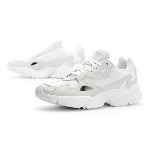 Buty sportowe damskie Adidas białe sznurowane