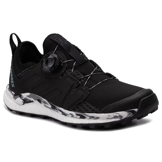 Buty sportowe damskie Adidas terrex wiązane bez wzorów w Domodi