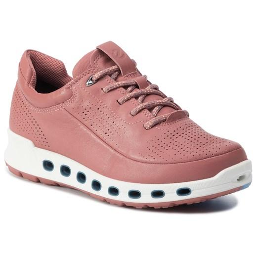Buty sportowe damskie Ecco sznurowane gładkie w Domodi