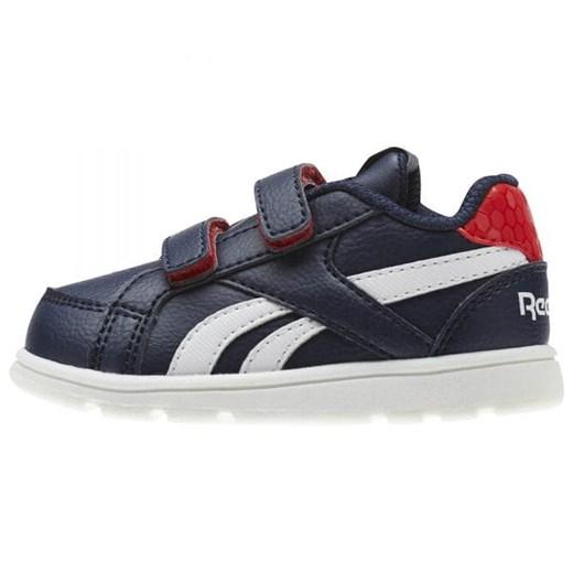 Buty sportowe dziecięce niebieskie Reebok na rzepy w Domodi
