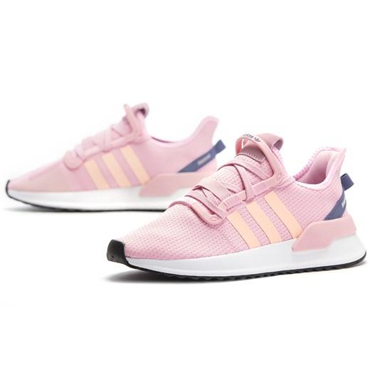Adidas buty sportowe damskie do biegania sznurowane różowe