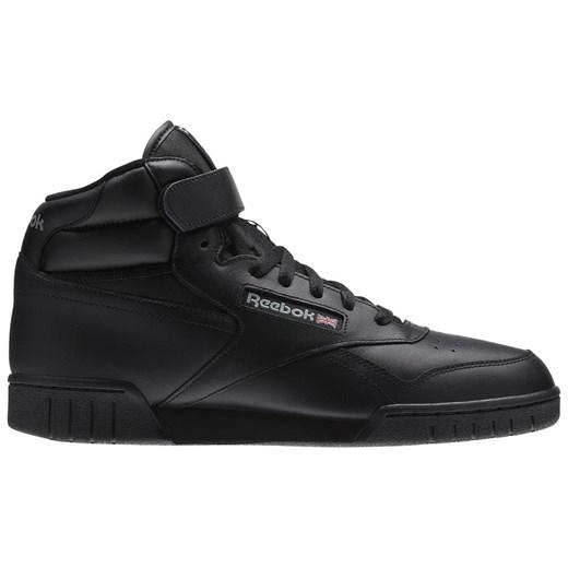 Reebok buty sportowe męskie jesienne czarne skórzane