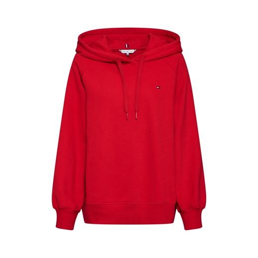 Tommy Hilfiger bluza damska czerwona z tkaniny w Domodi