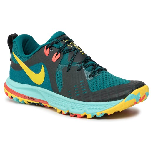 Buty NIKE - Air Zoom Wildhorse 5 AG2223 301 Geode Teal/Chrome Yellow/Black Nike  36.5 eobuwie.pl