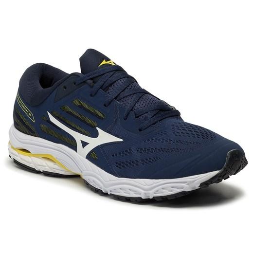 Buty sportowe męskie Mizuno wave sznurowane niebieskie
