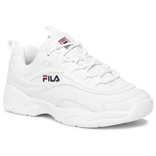 Fila buty sportowe męskie białe na wiosnę
