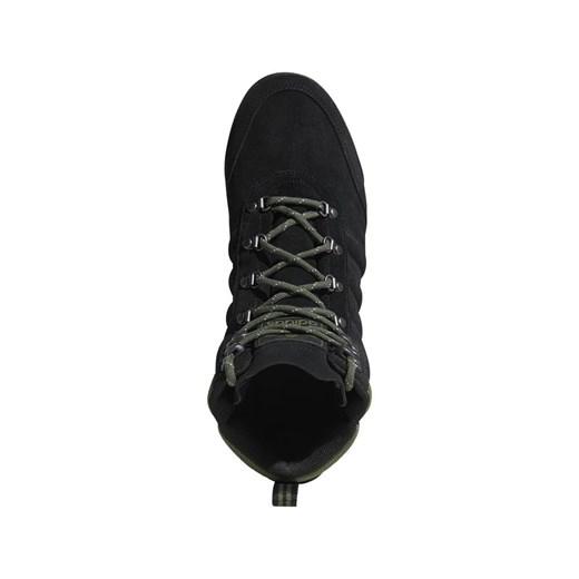Buty zimowe m?skie Adidas z zamszu na zim? sznurowane sportowe