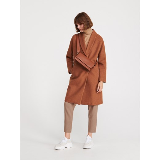 Płaszcz damski Reserved wełniany