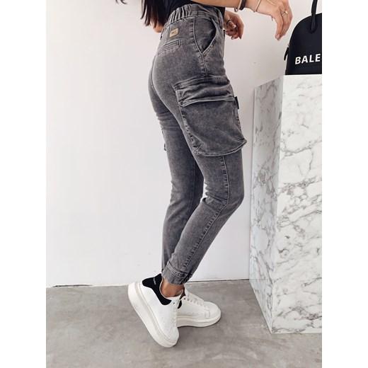 Spodnie bojówki Rico grey jeans   varlesca.pl VARLESCA