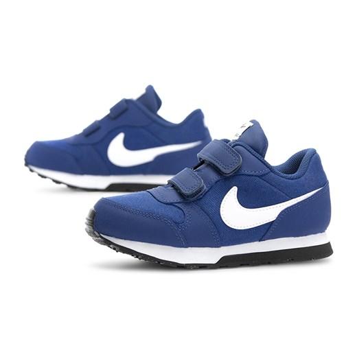 Buty sportowe dziecięce Nike gładkie na rzepy