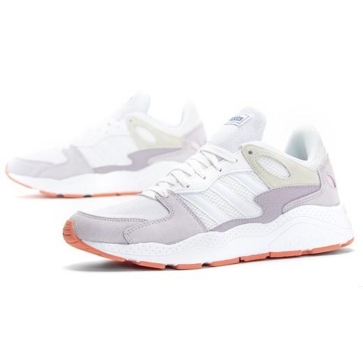Buty sportowe damskie Adidas do biegania wielokolorowe skórzane