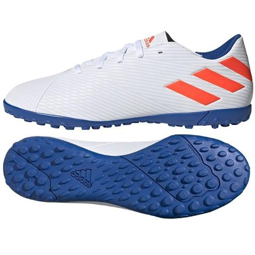 Buty sportowe męskie Adidas messi białe sznurowane w Domodi