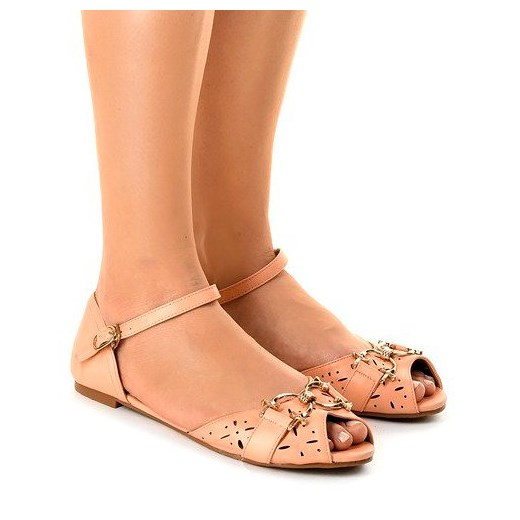 Sandały damskie płaskie na lato w Domodi
