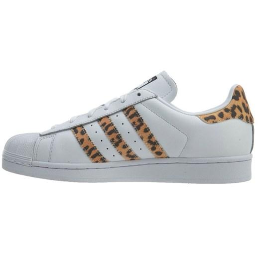 Trampki damskie białe Adidas superstar płaskie sznurowane