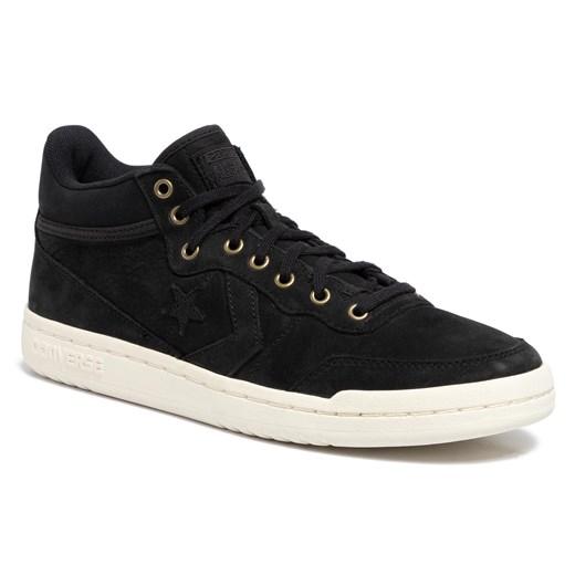 Sneakersy CONVERSE Fastbreak Mid 157699C BlackBlackEgret czarny eobuwie.pl