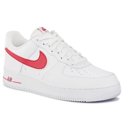 Buty sportowe męskie białe Nike air force sznurowane