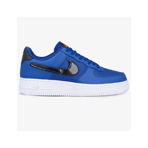 Buty sportowe męskie Nike air force sznurowane niebieskie