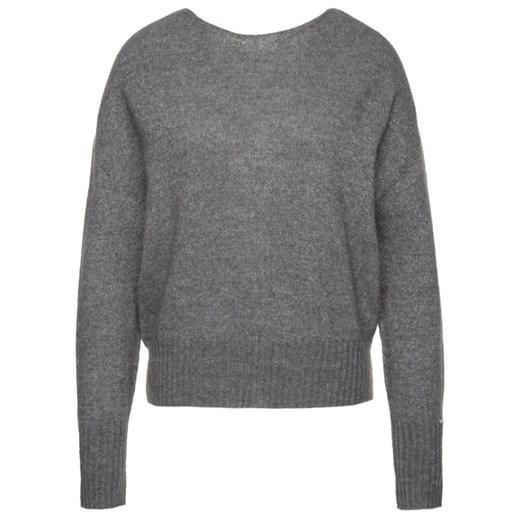 Sweter damski Liu jo z okrągłym dekoltem Odzież Damska UO szary ACFL