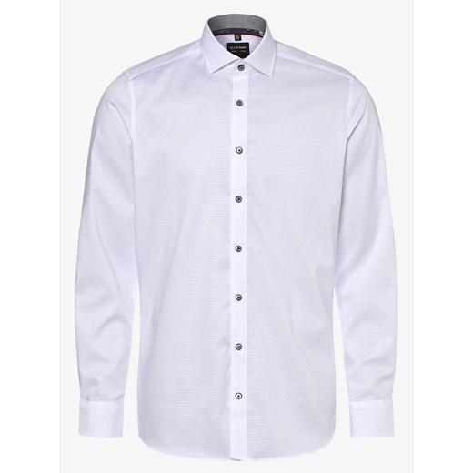 Koszula męska Olymp Level Five biała z długimi rękawami w Domodi  l27CM