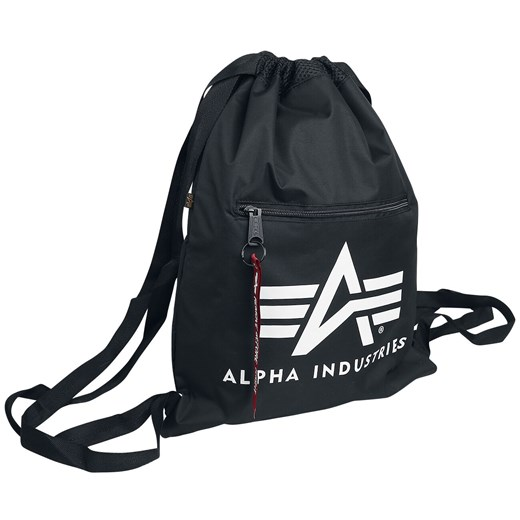 Alpha Industries - Alpha Gym Bag - Torba treningowa - czarny