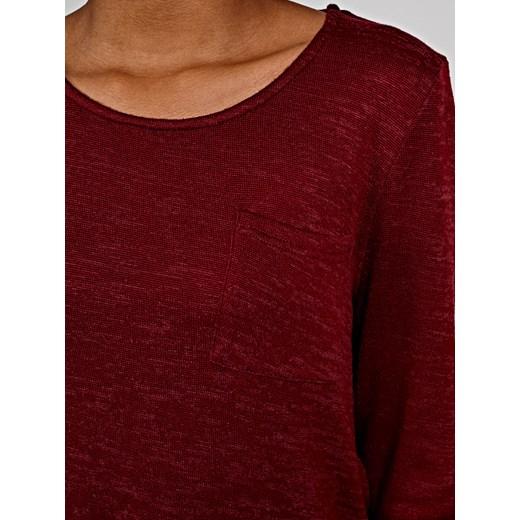 Gate sweter damski Odzież Damska SZ czerwony IGIF