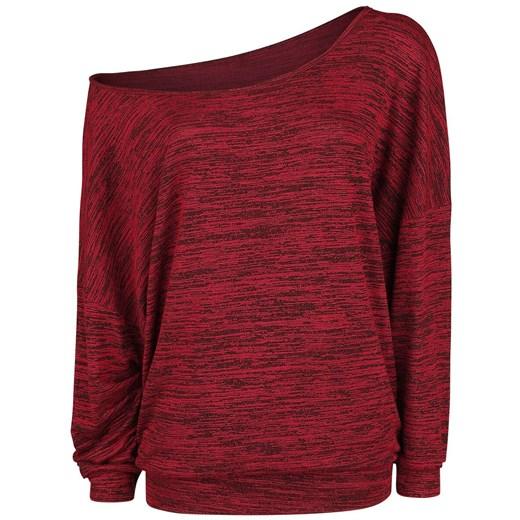 Sweter damski czerwony Forplay Odzież Damska UX czerwony TEES