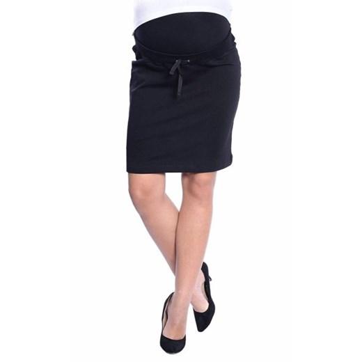 Spódnica ciążowa Mama Licious czarna elegancka w Domodi