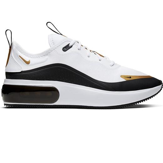 Buty sportowe damskie białe Nike dla biegaczy gładkie