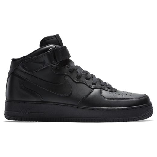 Buty sportowe męskie Nike Sportswear air force młodzieżowe skórzane
