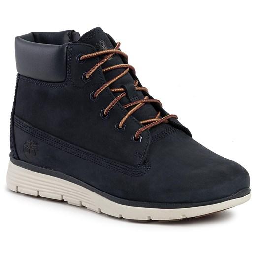 Timberland buty zimowe dziecięce bez wzorów w Domodi