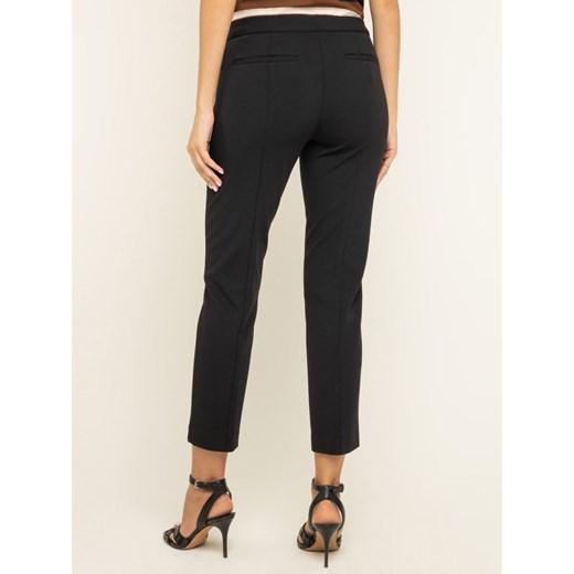 spodnie czarne damskie materiałowe