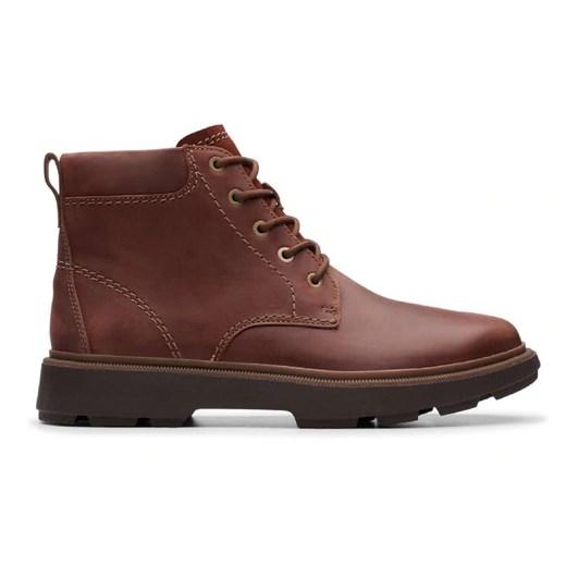 Clarks buty zimowe męskie sznurowane casual w Domodi