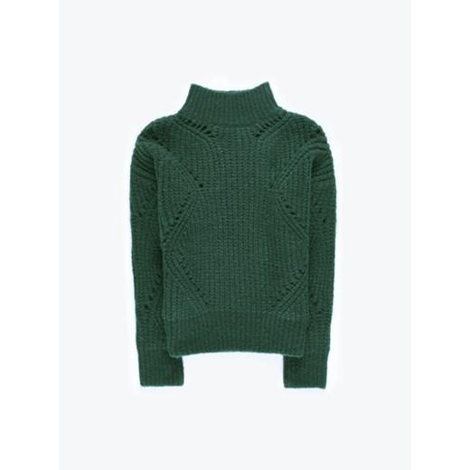 Sweter damski Gate Odzież Damska MB zielony SXPP