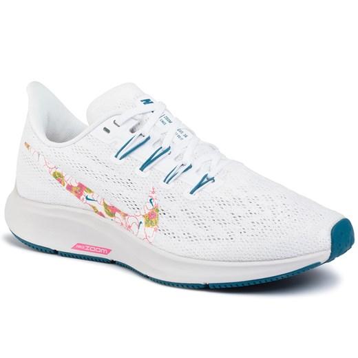 Buty sportowe damskie Nike białe gładkie
