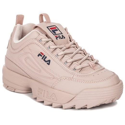 Sneakersy damskie Fila na wiosnę na platformie w Domodi