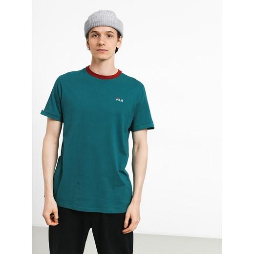 Koszulka sportowa Fila bez wzorów bawełniana w Domodi
