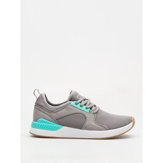 Buty sportowe damskie Etnies dla biegaczy bez wzorów płaskie