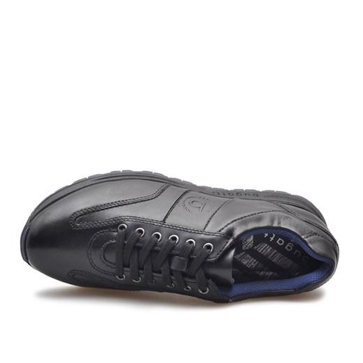 Buty sportowe męskie Bugatti skórzane sznurowane w Domodi