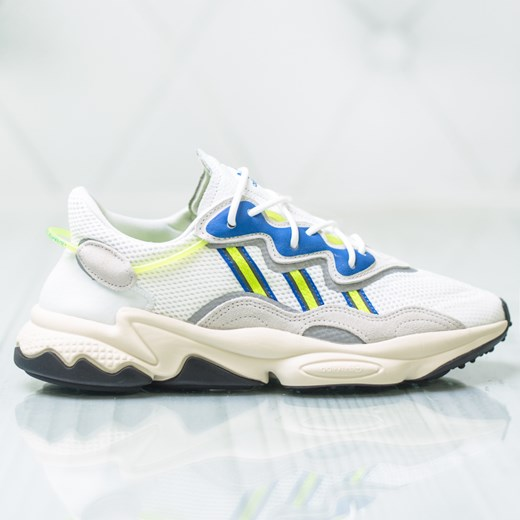 Buty sportowe męskie Adidas sznurowane na wiosnę zamszowe w