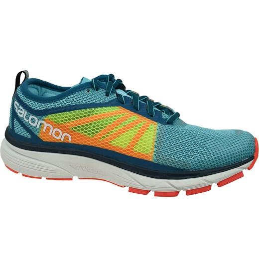 Buty sportowe damskie Salomon dla biegaczy płaskie wiązane