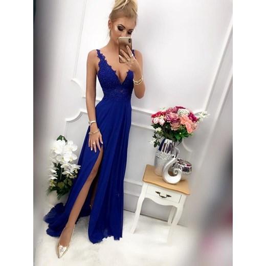 Sukienka Pretty Women na studniówkę maxi w Domodi
