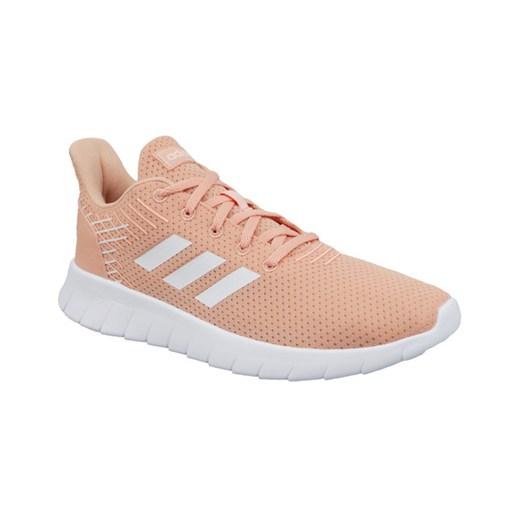 Buty sportowe damskie Adidas bez wzorów klasyczne płaskie