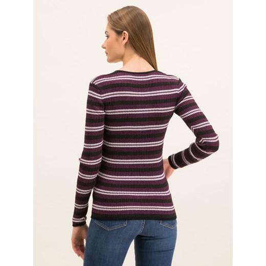Sweter damski Tommy Hilfiger z okrągłym dekoltem Odzież Damska CC wielokolorowy UAEP