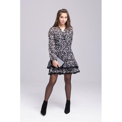Sukienka mini Odzież Damska VK wielokolorowy KHPE