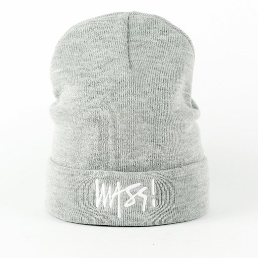 Czapka zimowa Mass Denim beanie hat Signature light heather grey Mass Denim  uniwersalny matshop.pl