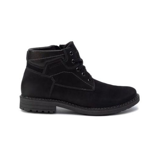 Buty zimowe męskie Lasocki For Men sznurowane militarne CScdd